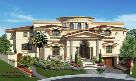 custom home architect daniel dascanio